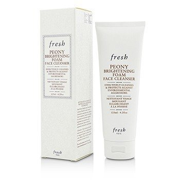 Fresh - Fresh Peony Brightening Foam Face Cleanser, 4.2 Ounce