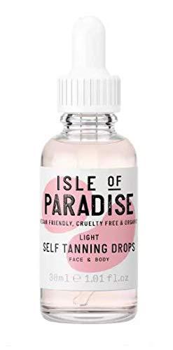 Isle of Paradise Self-Tanning Drops Light - 30ml 1.01oz