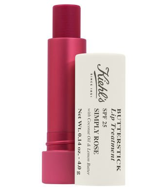 Kiehl's - Butterstick Lip Treatment SPF 25, Simply Rose