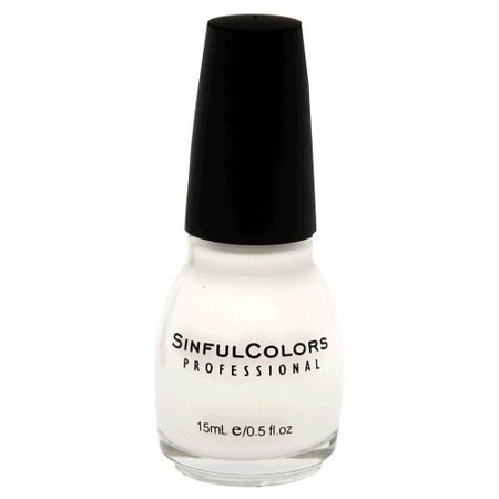 Sinful Colors - Sinful Colors Professional Nail Polish Enamel 101 Snow Me White (Pack of 3)
