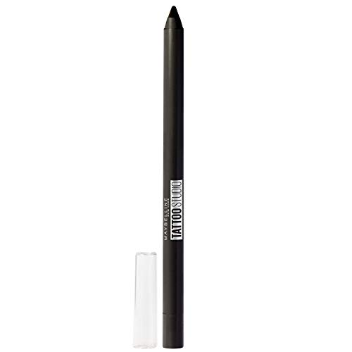 Maybelline New York - Maybelline New York Tattoostudio Waterproof, Long Wearing, Eyeliner Pencil Makeup, Deep Onyx, 0.04 Ounce
