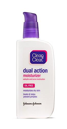 Clean & Clear - Clean & Clear ESSENTIALS Dual Action Moisturizer, 4 Ounce