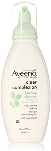 Aveeno AVEENO Active Naturals Clear Complexion Foaming Cleanser 6 oz (Pack of 2)