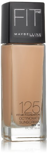 Maybelline New York - Maybelline Fit Me Dewy + Smooth Foundation, Nude Beige, 1 fl. oz. (Packaging May Vary)