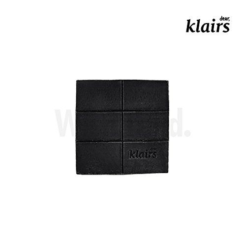 Klairs - [KLAIRS] Gentle Black Sugar Charcoal Soap, facial soap, cleanser, 120g