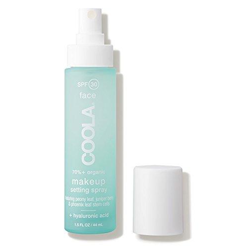 Coola Suncare Organic SPF 30 Makeup Setting Sunscreen Spray