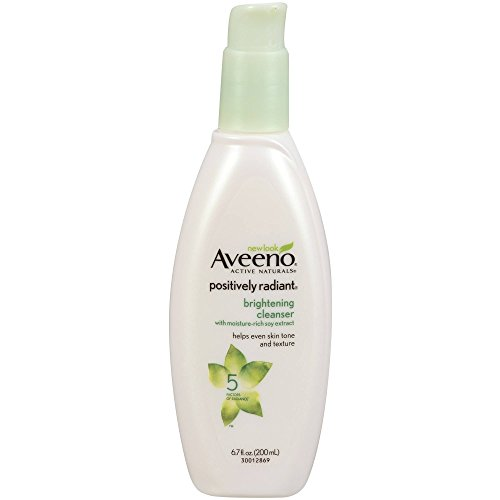 Aveeno - Aveeno Positively Radiant Brightening Cleanser 6.7 Ounce (198ml) (6 Pack)