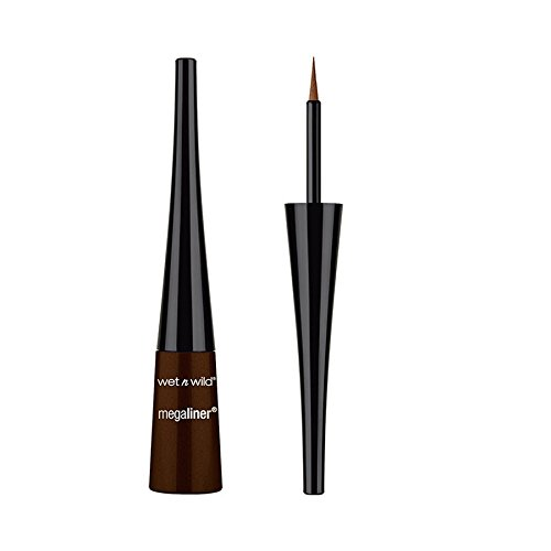 Wet 'n Wild - (3 Pack) WET N WILD MegaLiner Liquid Eyeliner - Dark Brown