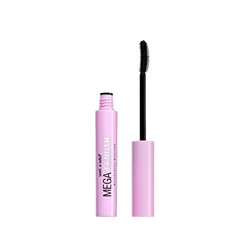 wet n wild - Wet N Wild Mega Length Waterproof Mascara, Very Black, 0.21 Ounce