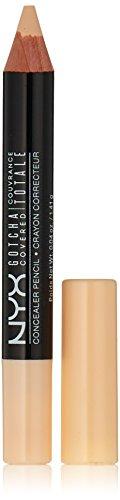 NYX - NYX Professional Makeup Gotcha Covered Concealer Pencil, No.01 Alabaster, 0.04 Ounce