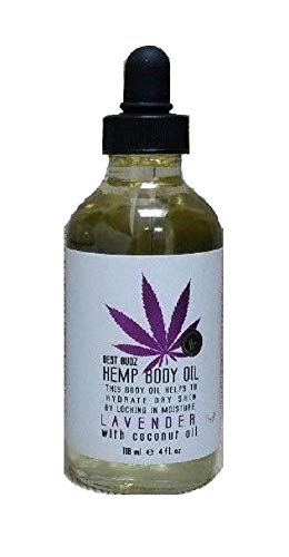 Best Budz - Hemp Body Oil, Lavender with Coconut Oil