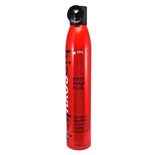 SEXYHAIR - Sexy Hair Concepts Big Sexy Hair Root Pump Plus Humidity Resistant Volumizing Spray Mousse Boosting Volume and Thickness - For Hold Elasticity and Texture - Great For Medium or Thick Hair Types - 10oz