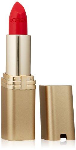 L'Oreal Paris - L'Oréal Paris Makeup Colour Riche Original Creamy, Hydrating Satin Lipstick, 350 British Red, 0.13 oz.