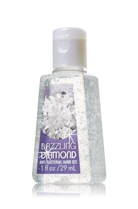 bath and body works - Bath & Body Works Dazzling Diamond 1.0 oz Pocket Bac Anti-Bacterial Hand Gel