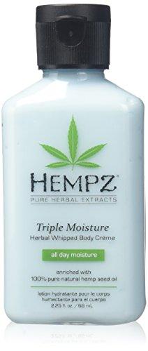 Hempz - Hempz Triple Moisture Herbal Whipped Body Creme, 2.25 Ounce