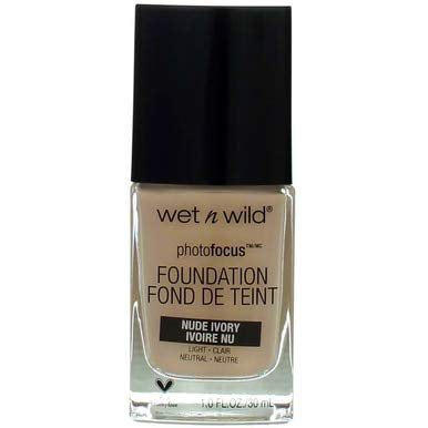 Wet N Wild Photo Focus Fnd Nude Ivory,Markwins Beauty Prod,363c