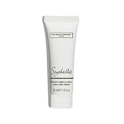 The White Company  - Seychelles Hand & Nail Cream