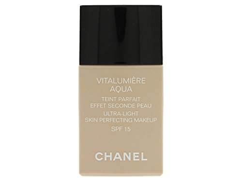 CHANEL - Chanel Vitalumiere Aqua Ultra Light Skin Perfecting Make Up SFP 15 - # 22 Beige Rose - 30ml/1oz