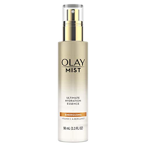 Olay - Hydrating Facial Spray, Energizing Essence with Vitamin C & Bergamot