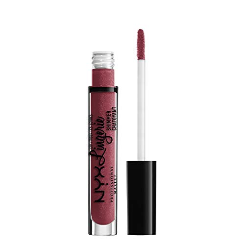 NYX - Nyx Professional Makeup Lip Lingerie Shimmer, Dark Pink-brown, 0.11 Ounce