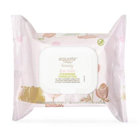 Equate Beauty - Equate Beauty Rose Water Cleansing Towelettes