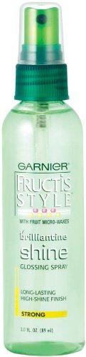 Garnier - Garnier Fructis Style Brilliantine Shine Glossing Spray 3 oz (Pack of 2)