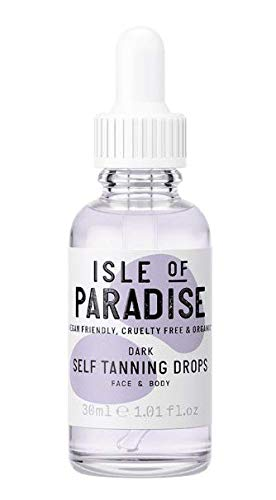 Isle of Paradise - Self-Tanning Drops Dark - 30ml 1.01oz
