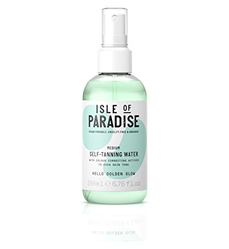 isle of paradise - Self-Tanning Water Medium, Golden Glow