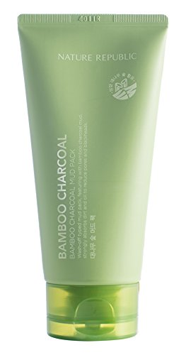 Nature Republic - Nature Republic Bamboo Charcoal Mud Pack, 150 Gram