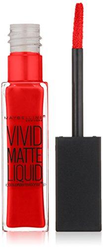 Maybelline New York - Color Sensational Vivid Matte Liquid, Rebel Red