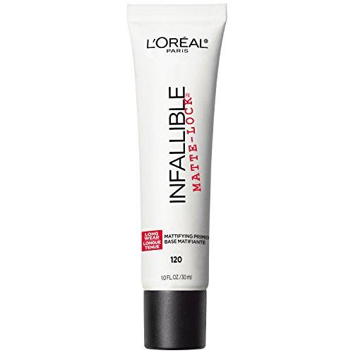 L'Oreal Paris - L'Oreal Paris Makeup Infallible Pro Matte-Lock Longwear Mattifying Face Primer, 1 fl. oz.
