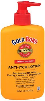 Gold Bond Gold Bond Anti-Itch Lotion - 5.5 oz, Pack of 3
