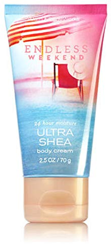 Bath & Body Works - Bath and Body Works Endless Weekend Ultra Shea Body Cream Mini Travel 2.5 ounce size