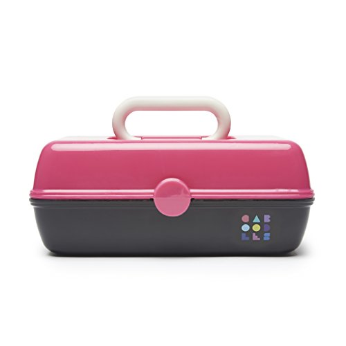 Caboodles Caboodles Pretty in Petite Hot Pink Lid and Black Base Vintage Case, 1 Pound