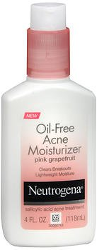 Neutrogena - Oil-Free Acne Moisturizer, Pink Grapefruit