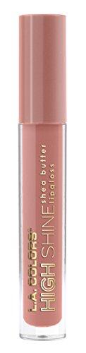 L.A. Colors - High Shine Shea Butter Lip Gloss, Sensual
