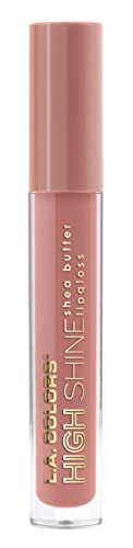 L.A. Colors - High Shine Shea Butter Lip Gloss, Sensual