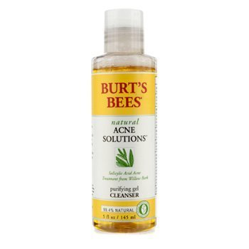 Burt's Bees - Burt's Bees Natural Acne Solution Purifying Gel Cleanser - 145ml/5oz
