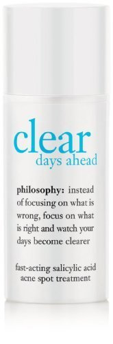null - Philosophy Clear Days Ahead Fast-Acting Salicylic Acid Acne Spot Treatment, 0.5 Ounce by Philosophy