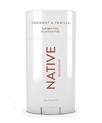 Native Coconut & Vanilla, Aluminum and Paraben Free Deodorant