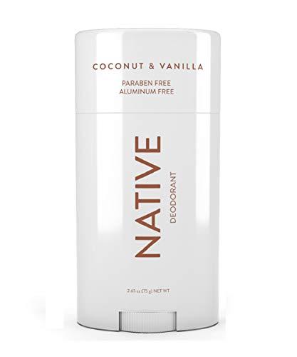 Native - Coconut & Vanilla, Aluminum and Paraben Free Deodorant