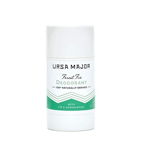 Ursa Major - Ursa Major Natural Deodorant - Forest Fix   Aluminum-Free, Non-staining and Cruelty-Free   2.9 ounces
