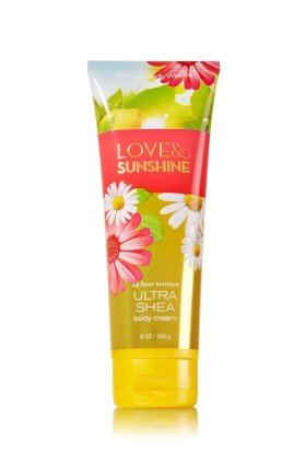 Bath & Body Works - Bath & Body Works, Love and Sunshine, Ultra Shea Body Cream