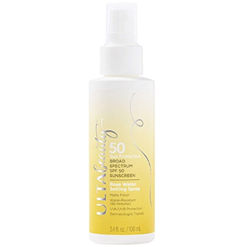 Ulta Becca - Ulta Beauty SPF 50 Sunscreen Rose Water Setting Spray