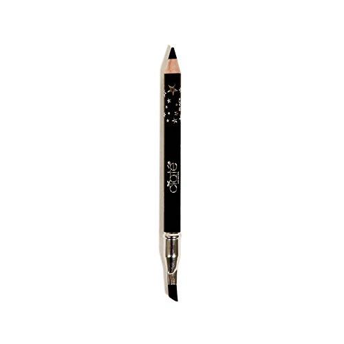 null - Ciaté London Wonderwand Gel-Kohl Hybrid Eye Liner in Black - 0.28 oz Travel Size - Double Ended Eyeliner With Blending / Smudging Brush