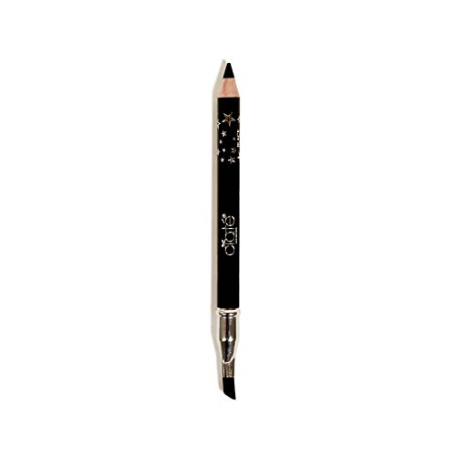 null - Ciaté London Wonderwand Gel-Kohl Hybrid Eye Liner in Black - 0.28 oz Travel Size - Double Ended Eyeliner With Blending / Smudging Brush