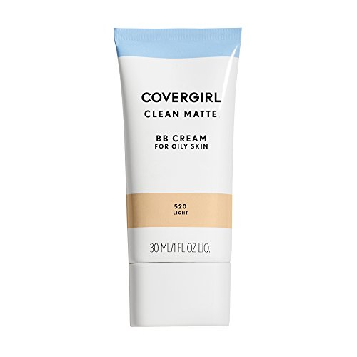 COVERGIRL - COVERGIRL Clean Matte BB Cream Light 520 For Oily Skin, 1 oz (packaging may vary)