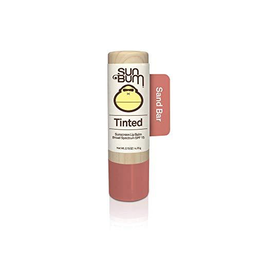 Sun Bum - Sun Bum Tinted Lip Balm, Sand Bar, SPF 15, UVA / UVB Broad Spectrum Protection, Hypoallergenic, Paraben Free, 1 Count