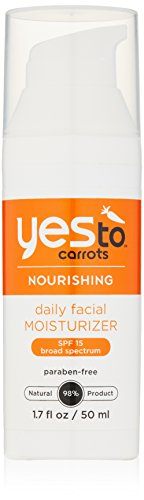 Yes To - Yes To Carrots Daily Facial Moisturizer SPF 15, 1.7 Fluid Ounce