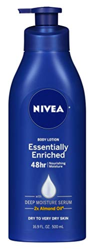 Nivea - Nivea Lotion Essentially Enriched 16.9 Ounce Pump (Very Dry Skin) (500ml) (3 Pack)